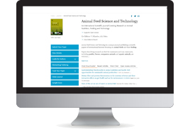Animal Feed Science and Technology - Journal - Elsevier